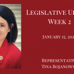 Legislative Update, Jan. 15, 2021